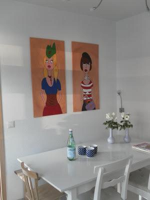 diy tafel herz fr ulein ordnung. Black Bedroom Furniture Sets. Home Design Ideas