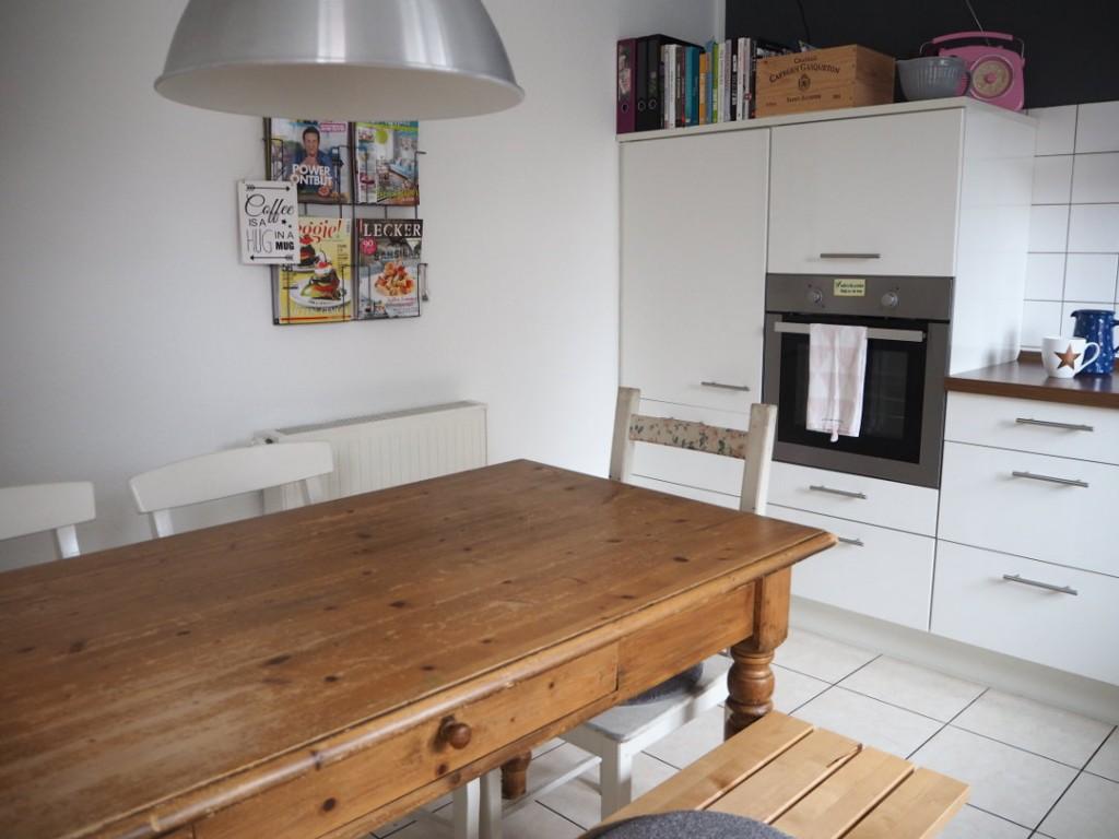 Neue Wandfarbe in der Küche | Fräulein Ordnung