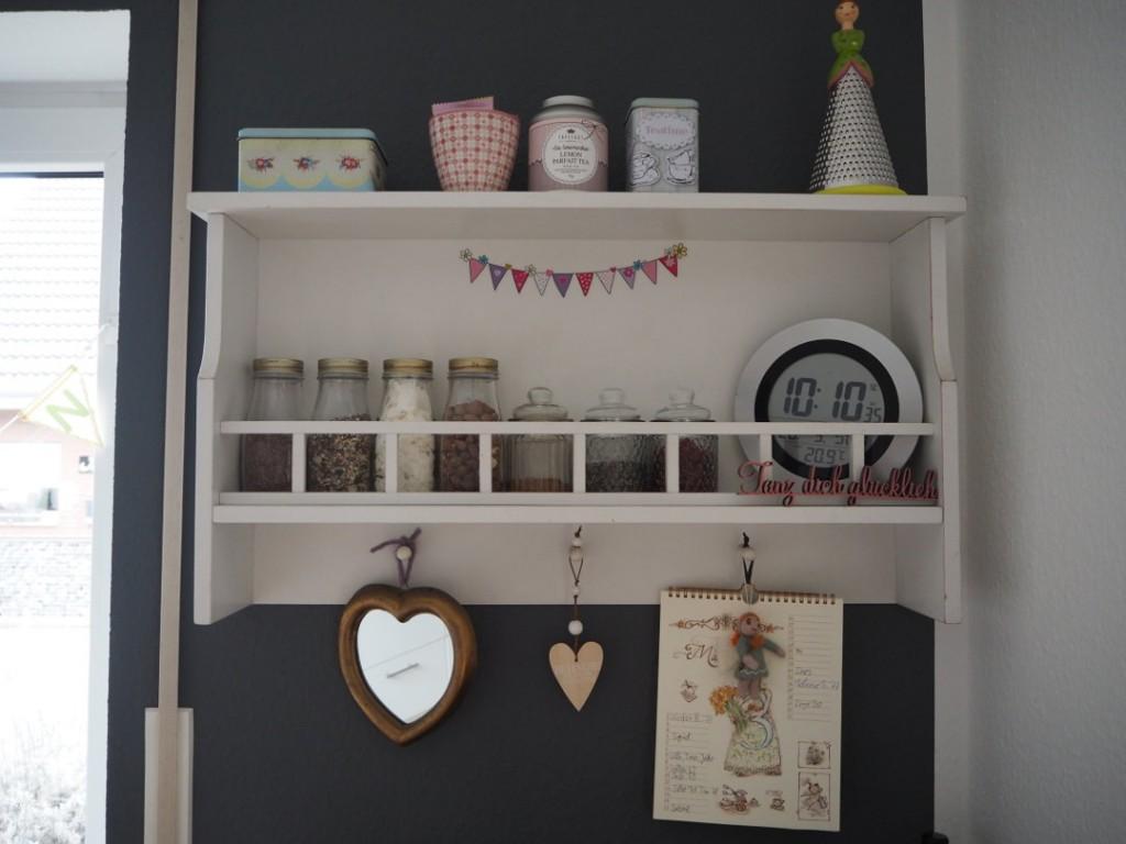 Fräulein Ordnung Küchenregal grau rosa
