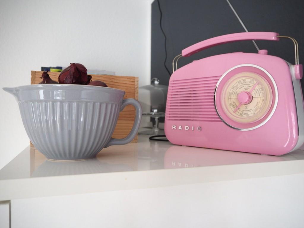 Fräulein Ordnung Retro Küchenradio IBLaursen