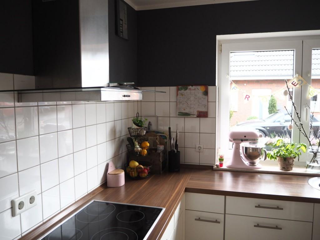 Fräulein Ordnung Wandfarbe Küchendetails