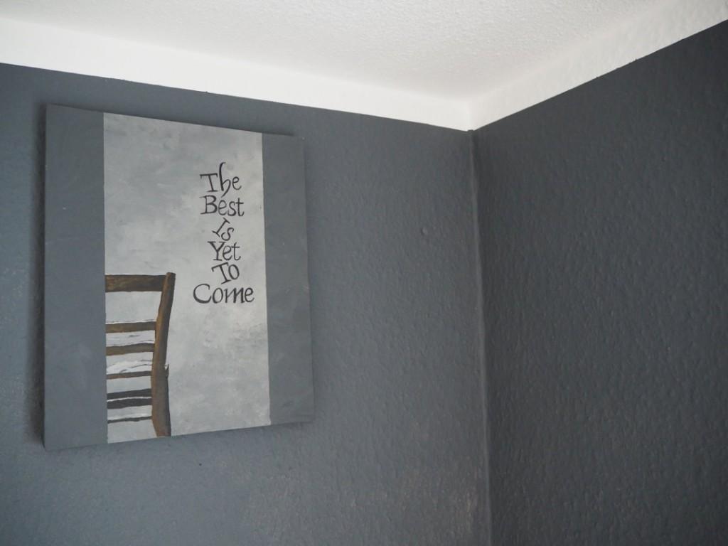 Fräulein Ordnung Wandfarbe DIY