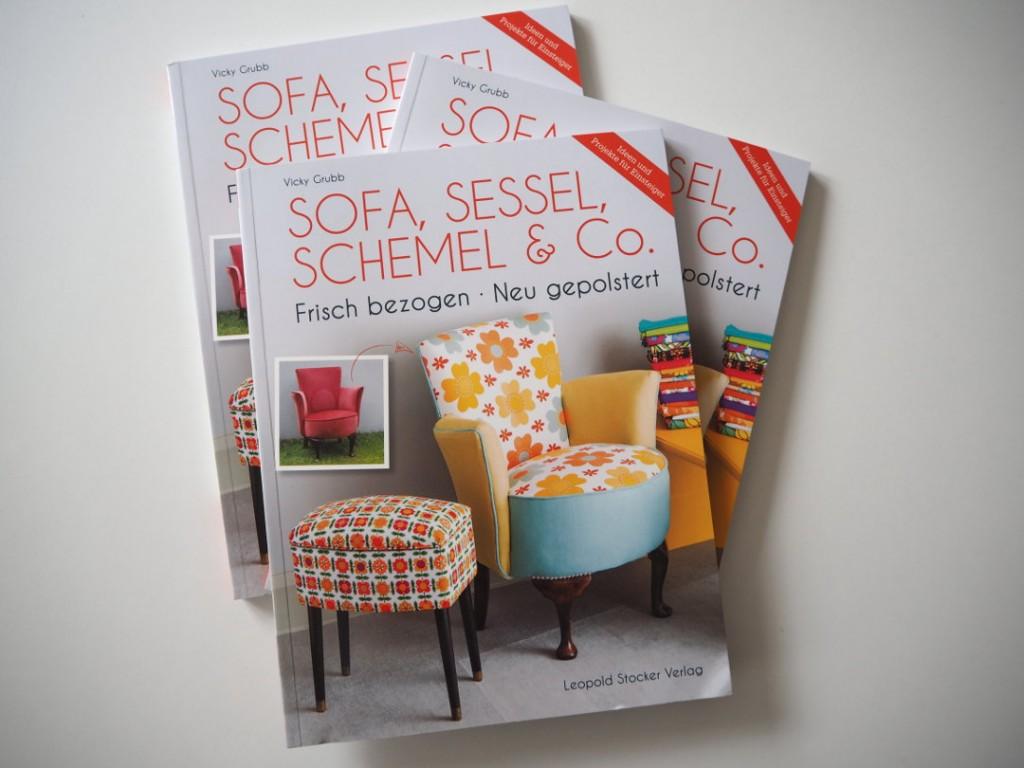 Cocktailsessel 50er neu beziehen  Sofa und Sessel neu gepolstert (Verlosung) | Fräulein Ordnung