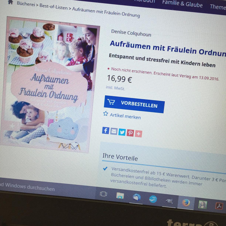Fräulein Ordnung wochenglück rückblick 130816 gewinner fräulein ordnung
