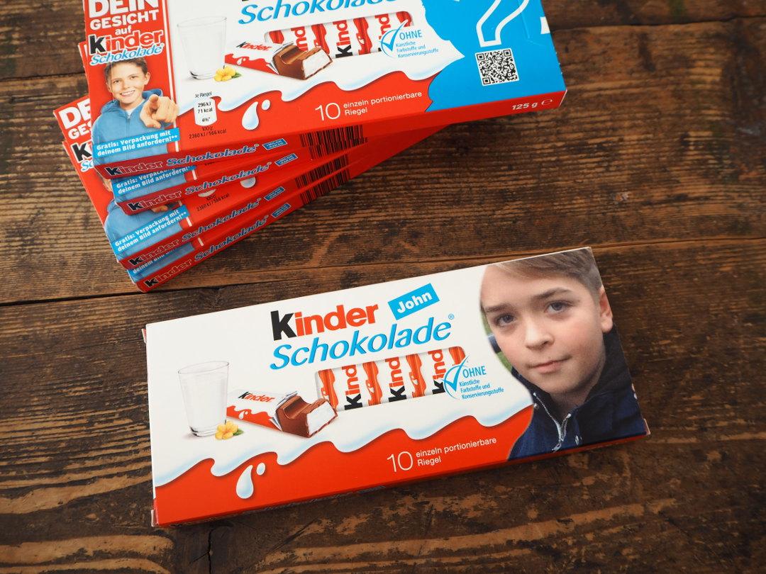 Dein Gesicht Auf Kinder Schokolade Verlosung Fraulein Ordnung