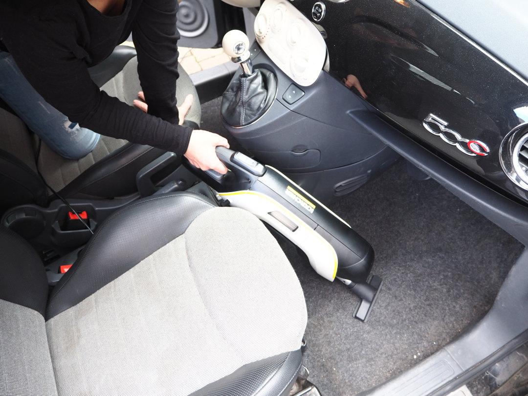 Auto aussaugen mit dem VC 5