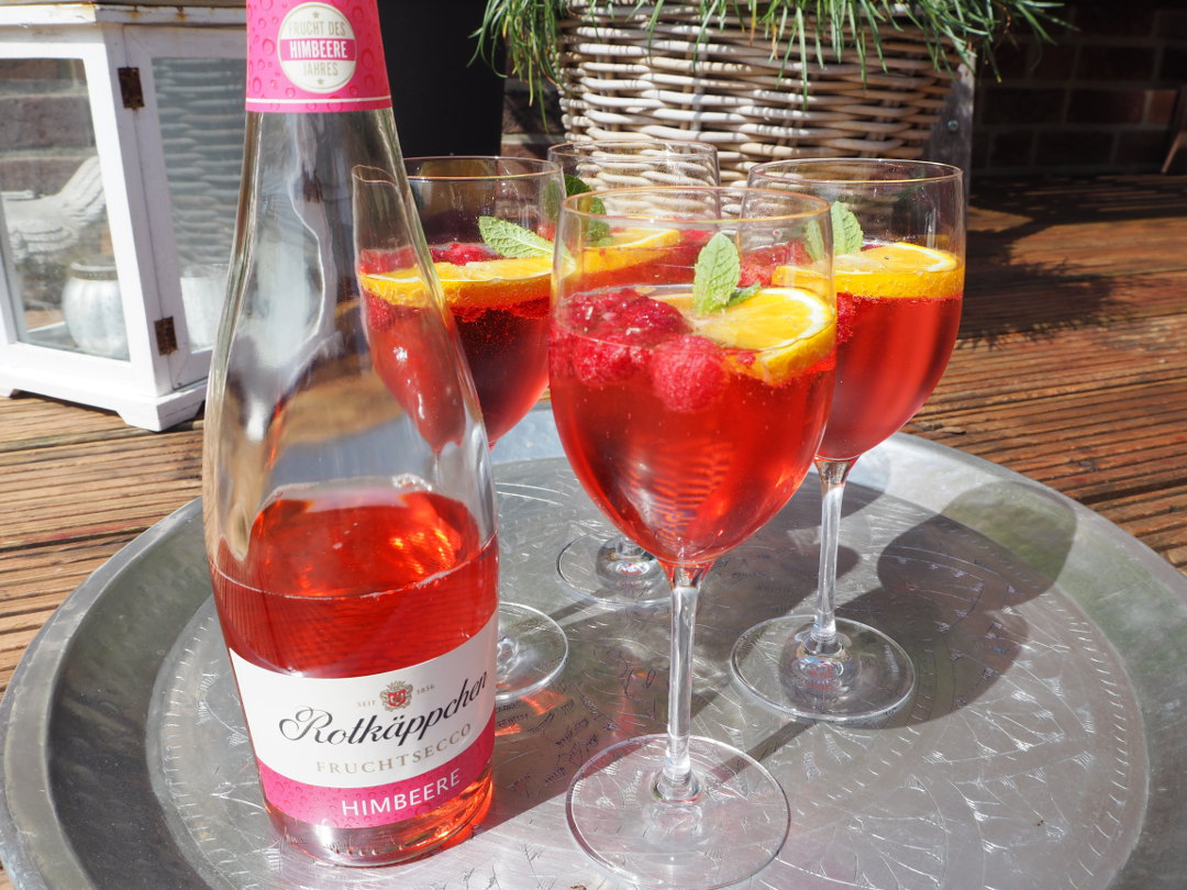 Fruchtsecco Himbeere