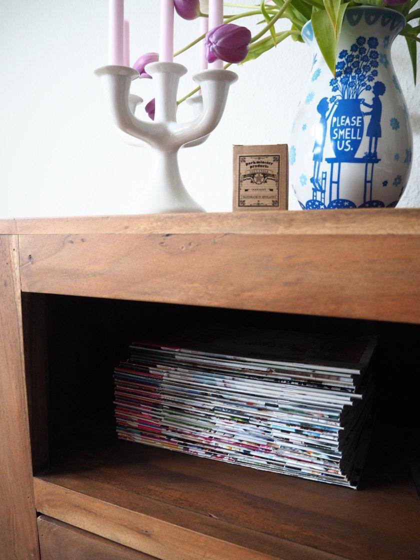 donnerstag ordnungstag ungelesene zeitschriften fr ulein ordnung. Black Bedroom Furniture Sets. Home Design Ideas