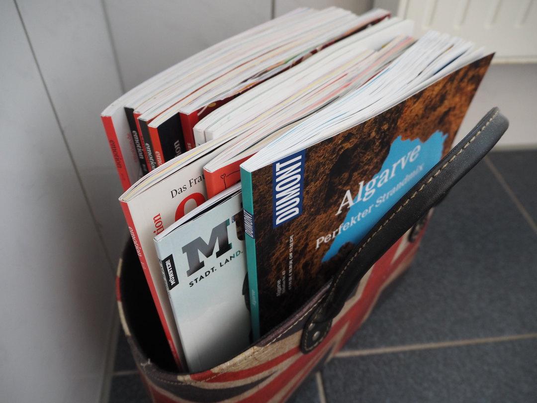 ungelesene Zeitschriften