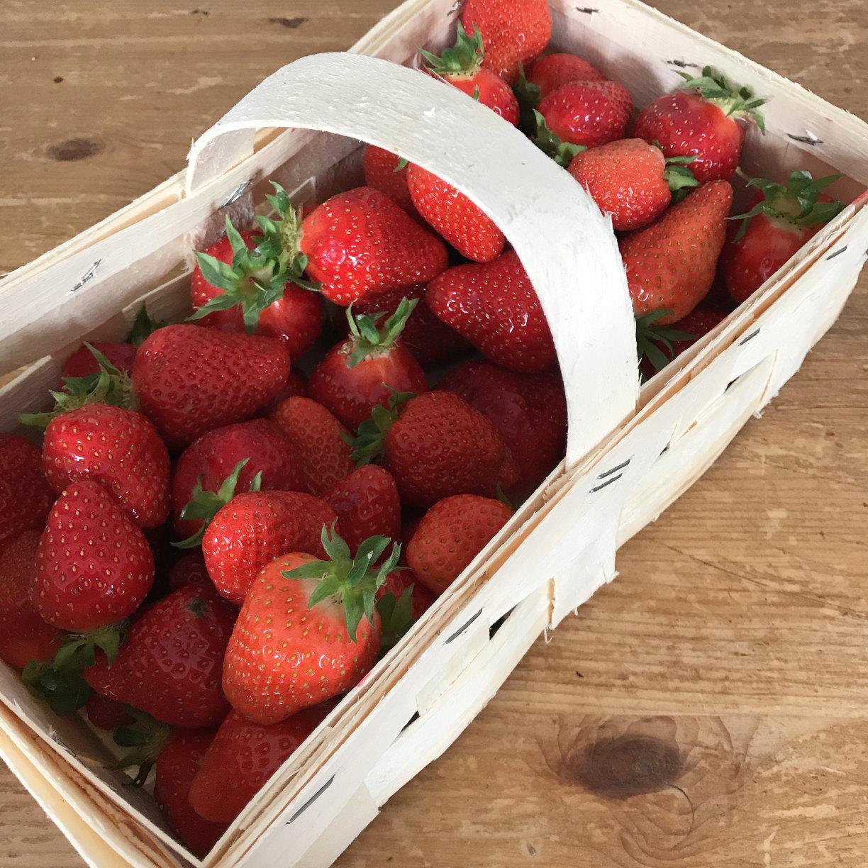 Wochenglück Erdbeeren