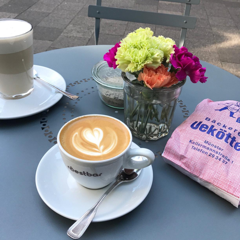 Urlaubs Kaffee in Münster