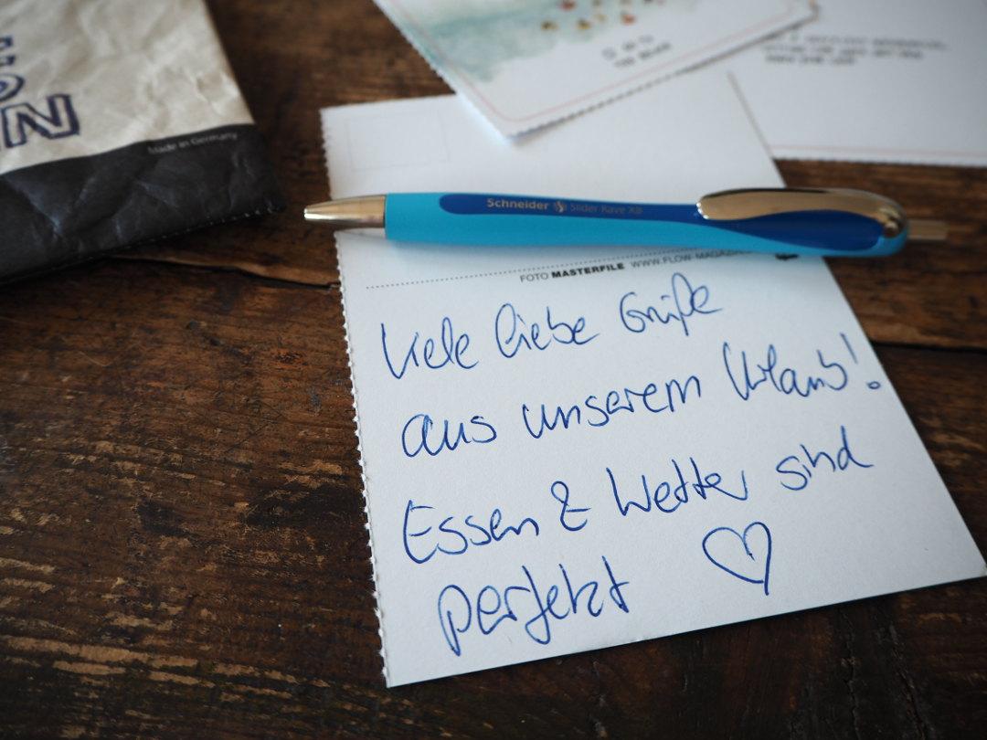 Schöner schreiben | Schneider Schreibgeräte - Slider Rave ... - Geburtstagskarte Schreiben