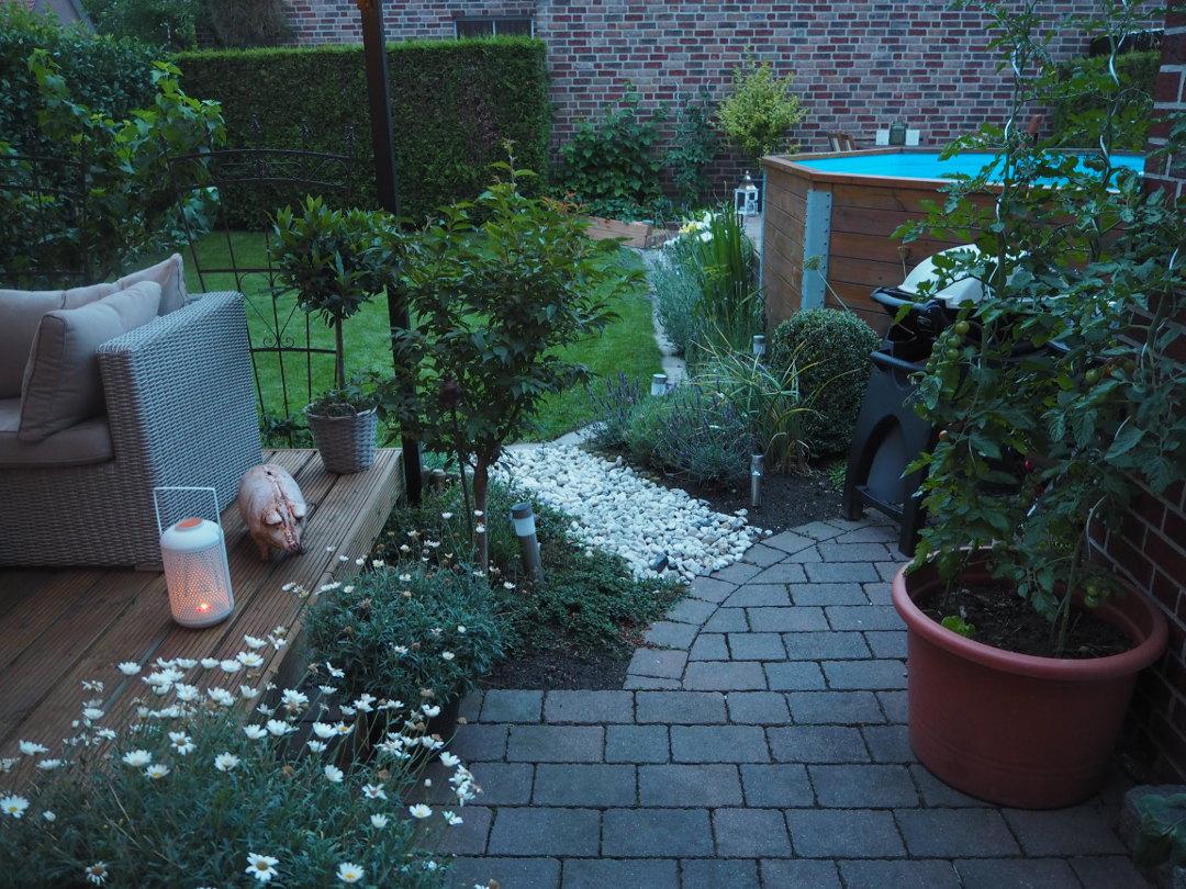 Schöne Ordnung im Garten