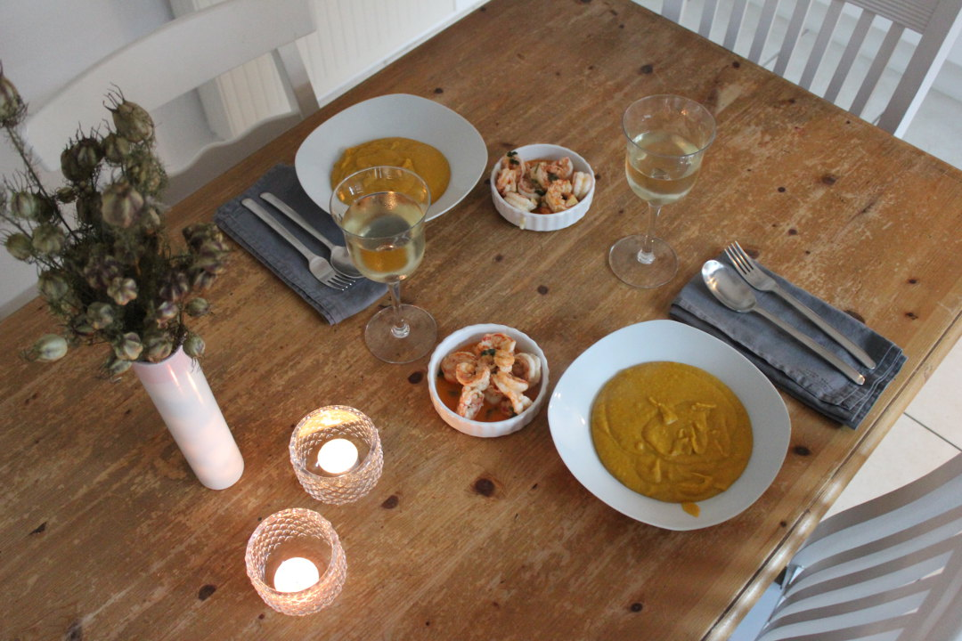 Köstliche Kürbissuppe