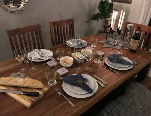 Wochenglück Rückblick Abendessen