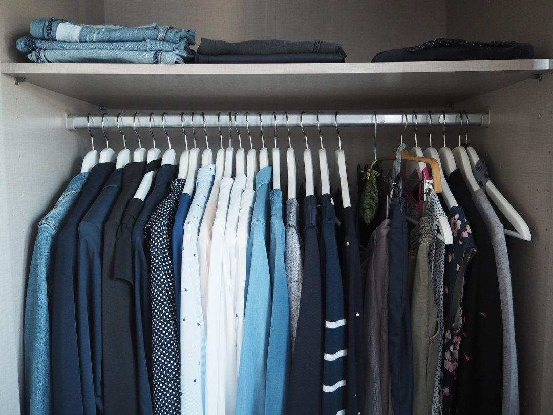 Fräulein Ordnung Kleiderschrank