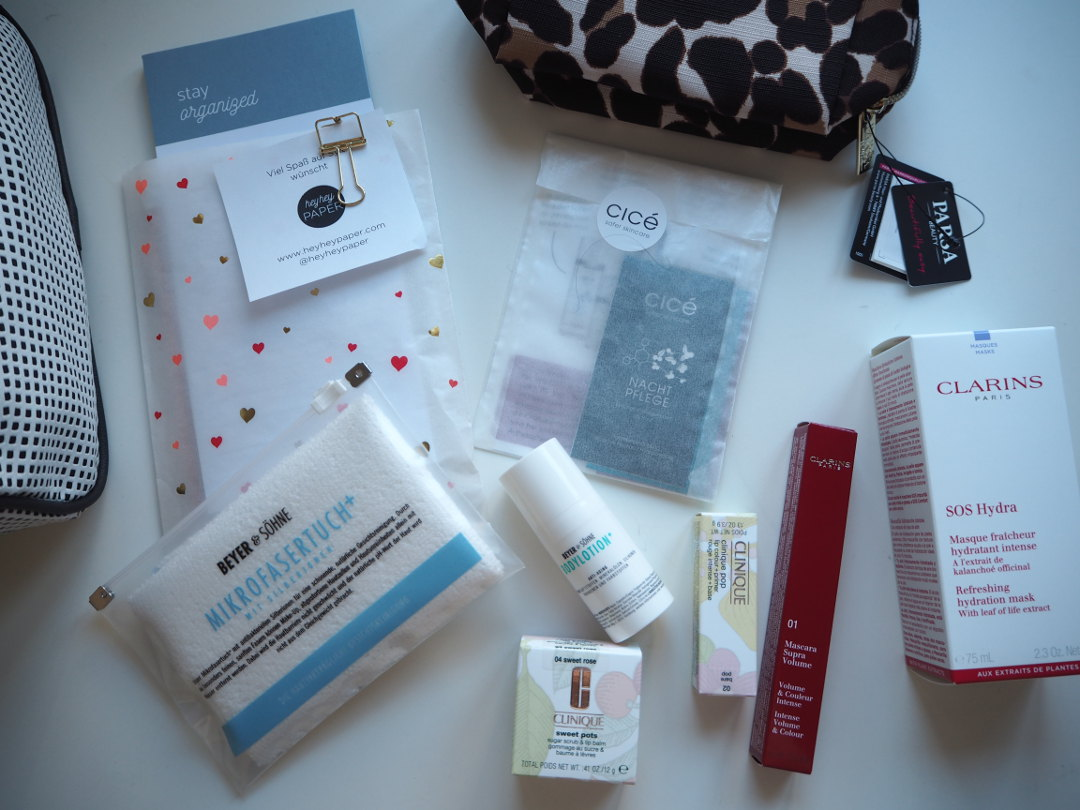 Beautycoaching Goodiebag