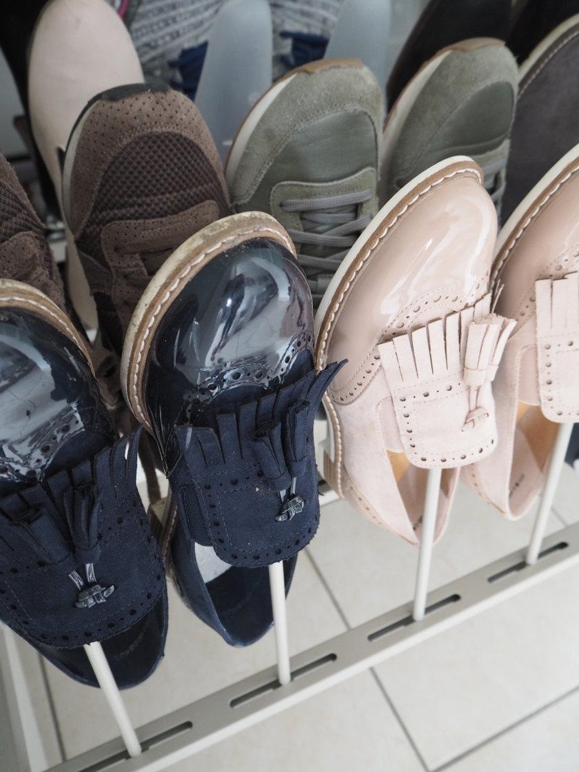 Ordnung im Schuhschrank