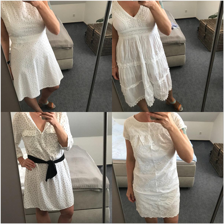 Weisse Kleider