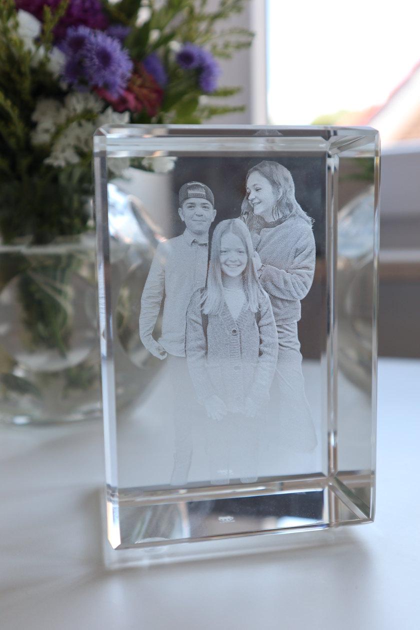 LOOXIS 3D Glasfoto