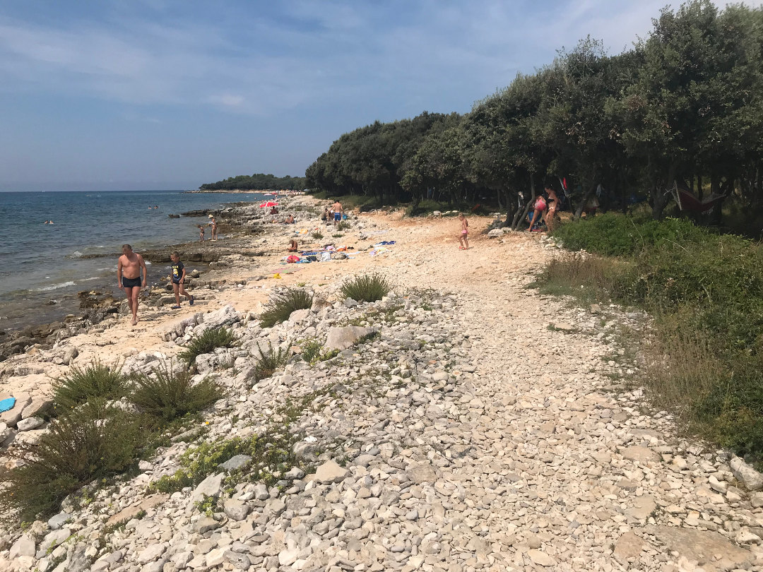 Strände in Istrien Barbariga