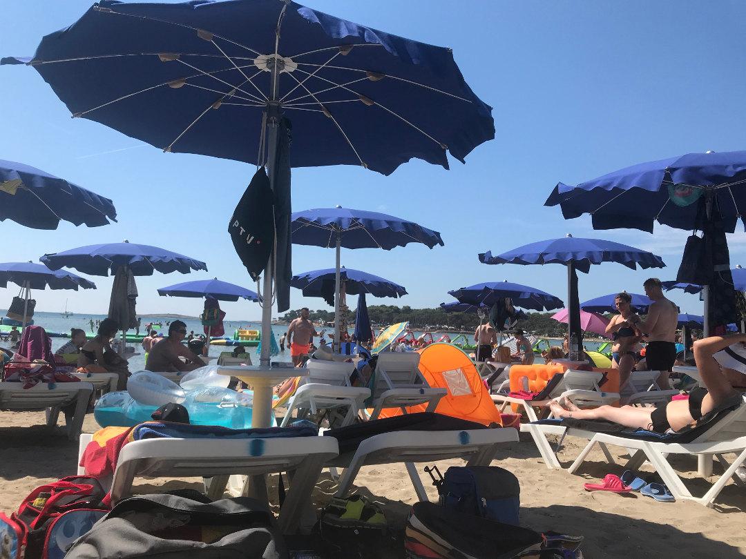 Strände in Istrien