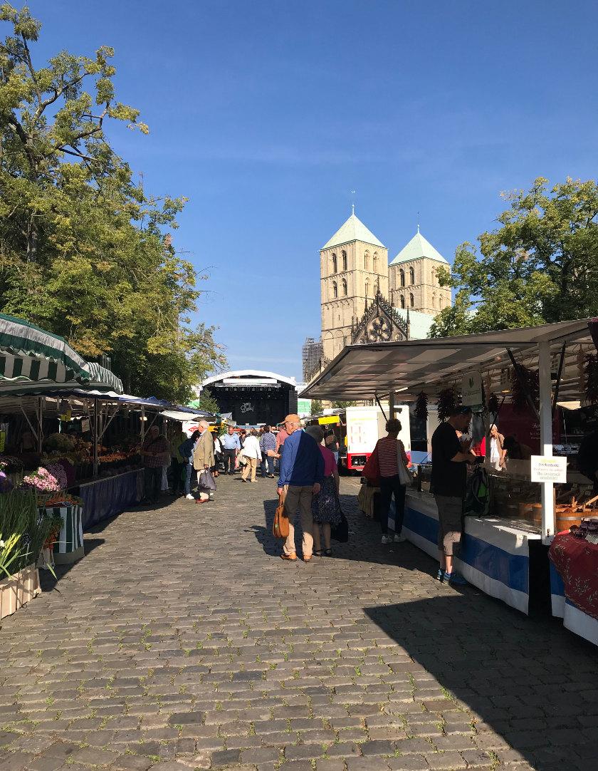 Münsterliebe Wochenmarkt