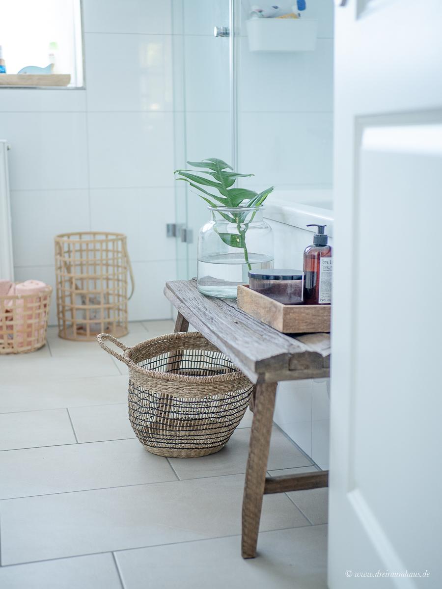 Dreiraumhaus Badezimmer
