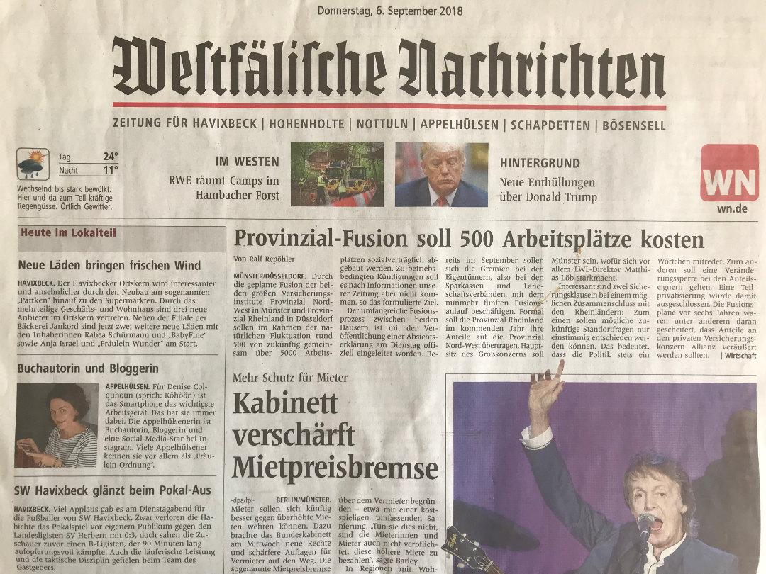 Wwstfälische Nachrichten