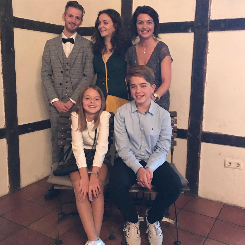 Hochzeit Familienfoto
