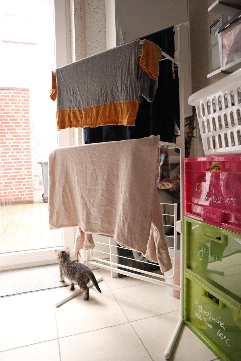Fräulein Ordnung Wäscheständer