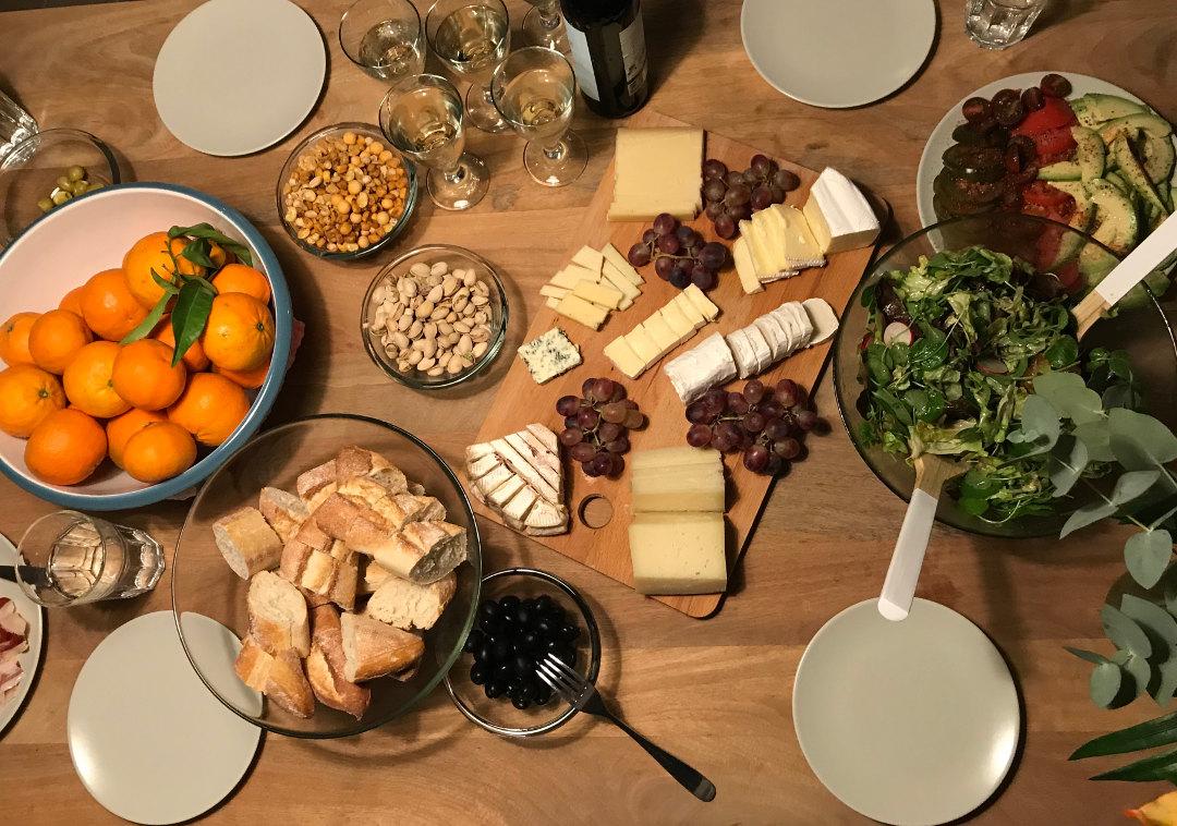 Casa18 Costa Blanca Abendessen