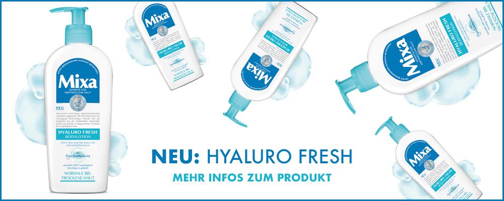 Mixa Hyaluro Fresh
