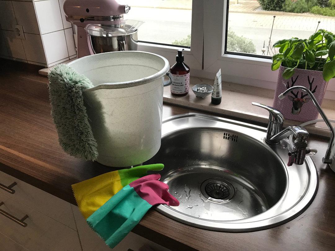 Frpühjahrsputz in der Küche