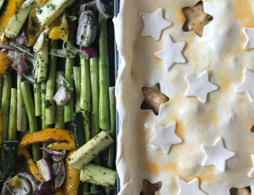 Pot Pie mit Hähnchen und Pilzen