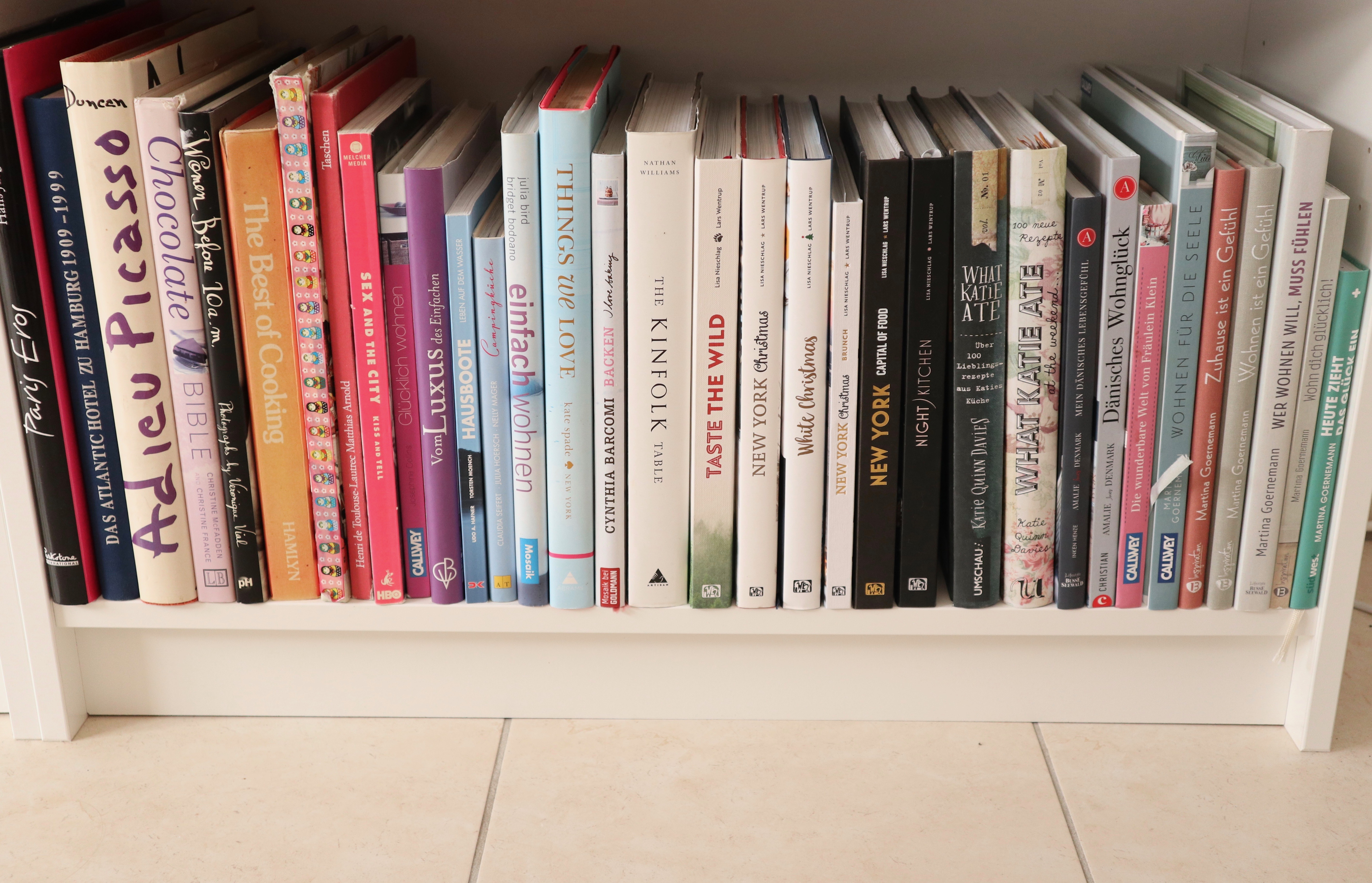 Bücher aussortieren