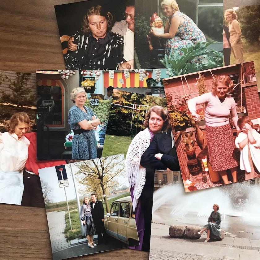 Fotos von Oma