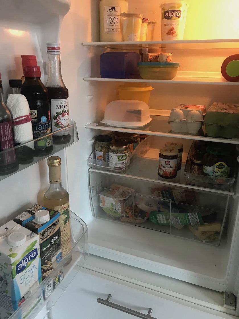 Ordnung Kühlschrank