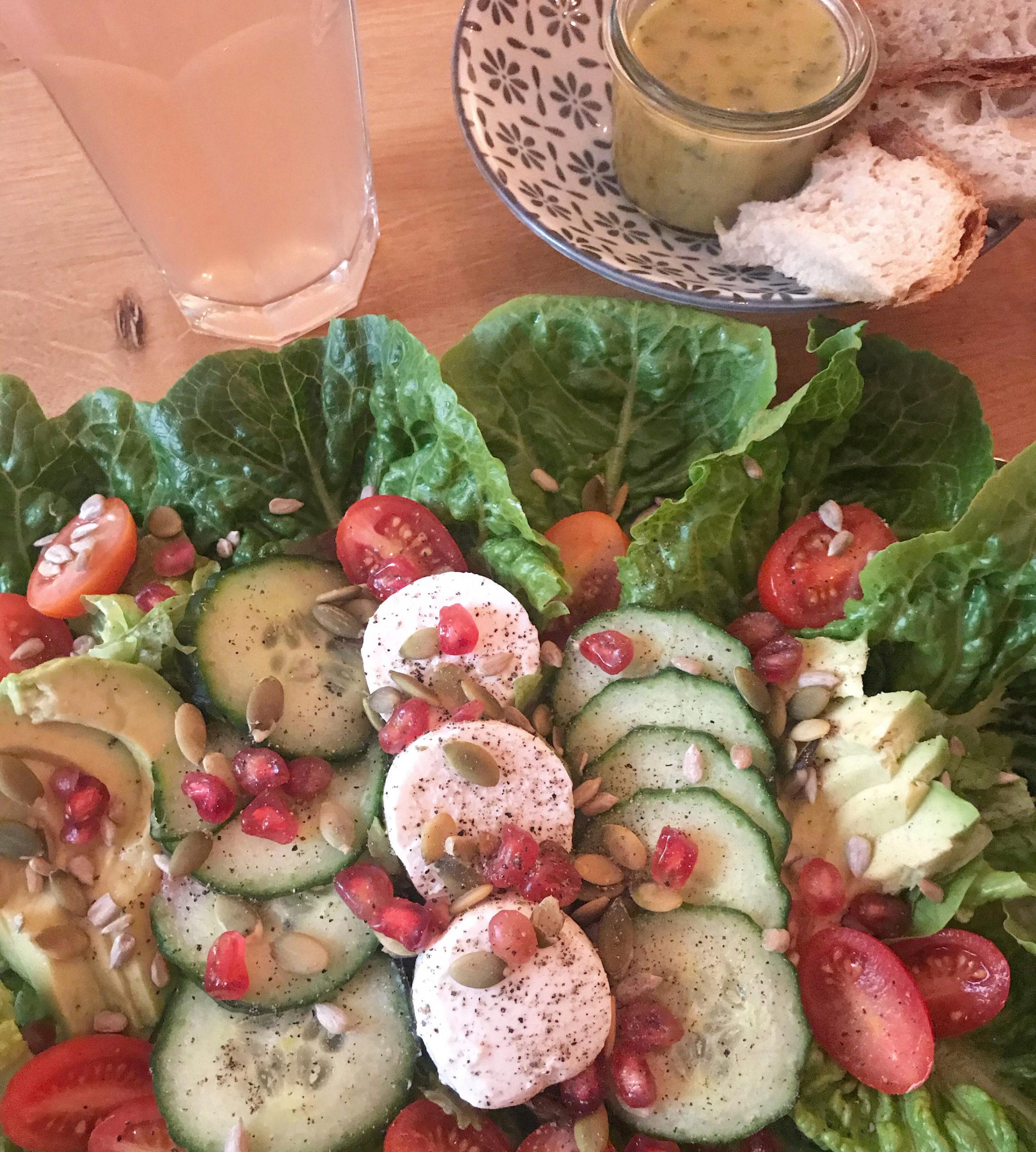 Salat in Stuttgart
