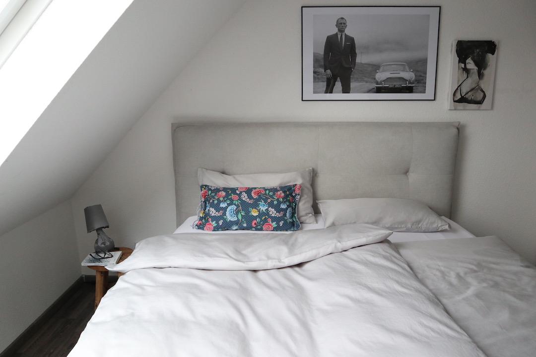 Schöne Ordnung. im Schlafzimmer