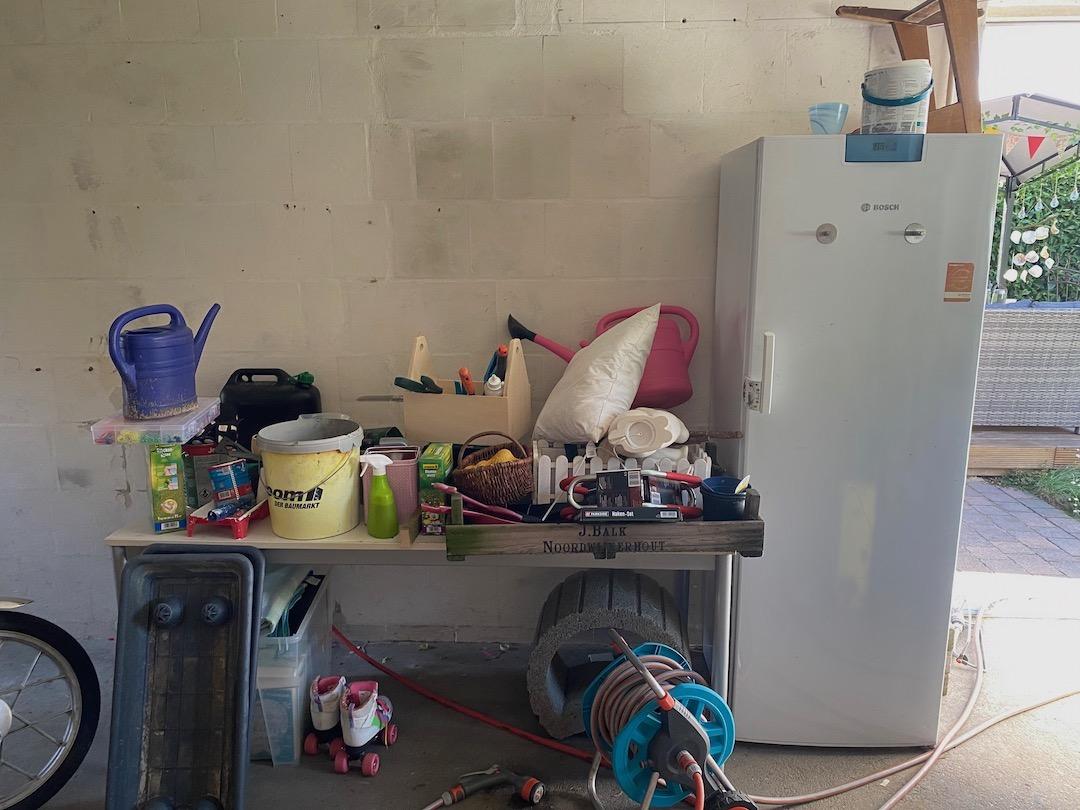 Ordnung in der Garage schaffen