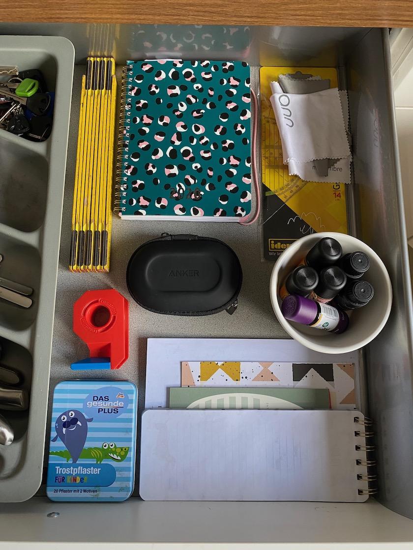 Ordnung in der Küchenschublade