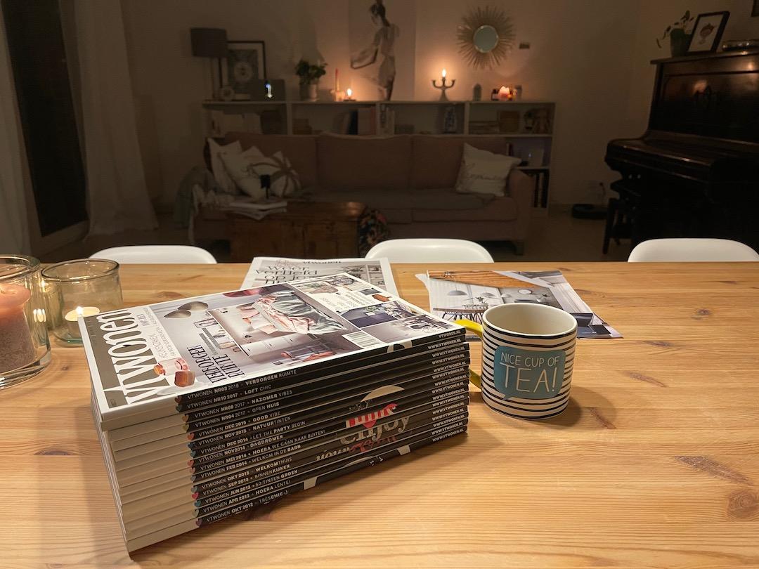 Wohnzeitschriften