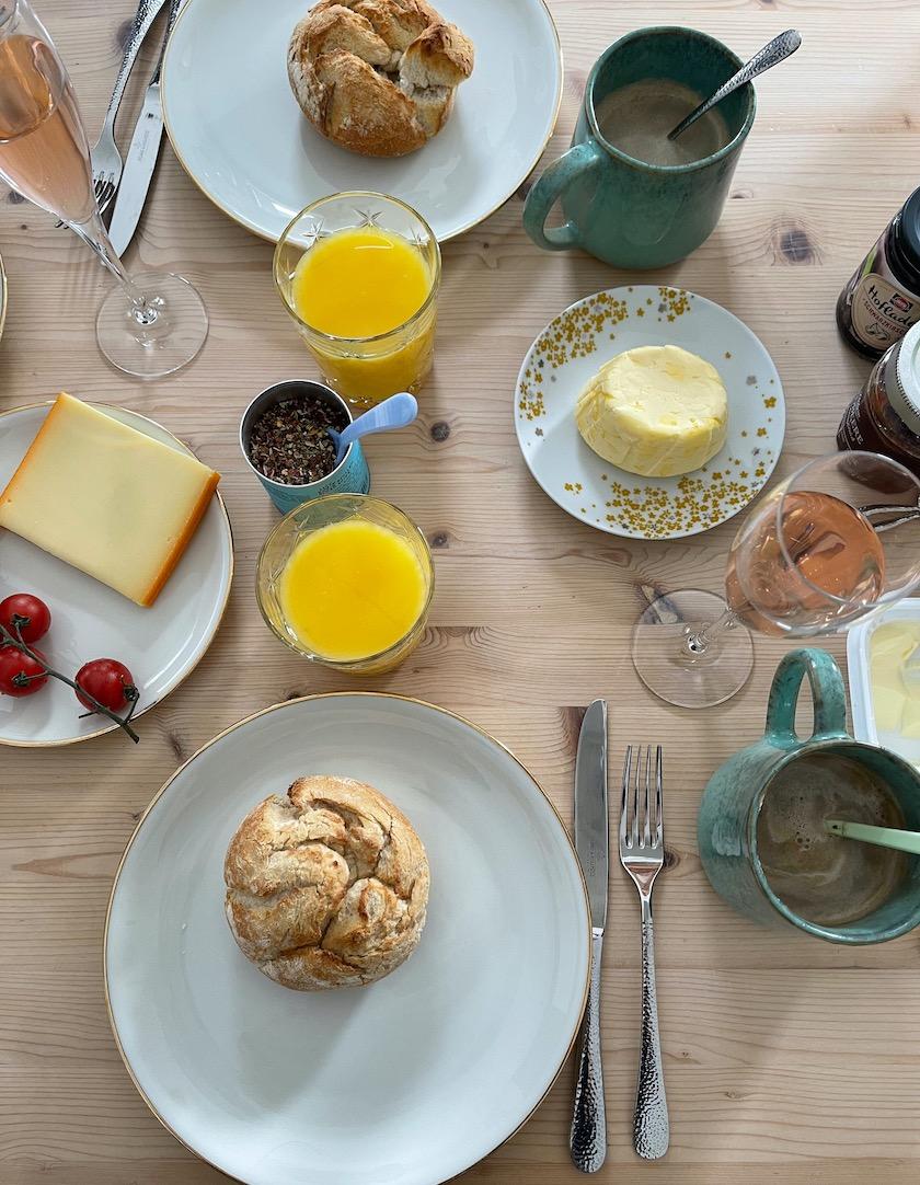 Prosecco-Frühstück