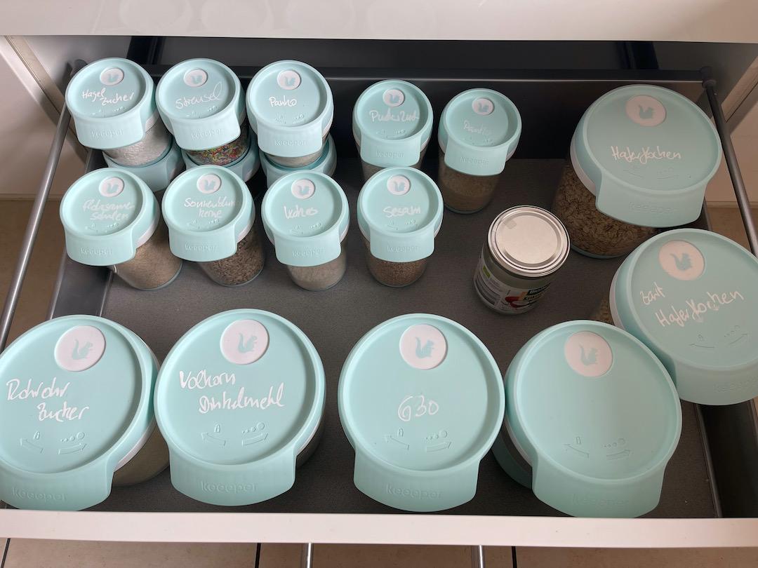 Küchenschublade Ordnung